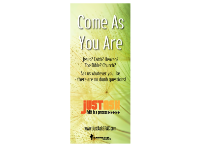 Just Ask - Pull Up Banner