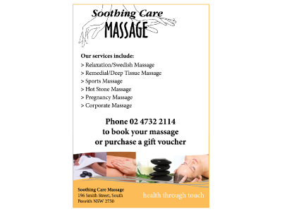 Soothing Care Massage